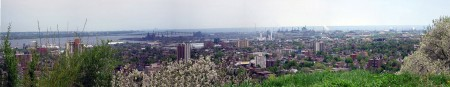 My First Panoramic Image - Hamilton, Ontario