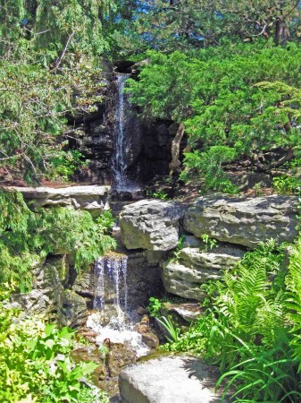 Waterfall at Rock Garden