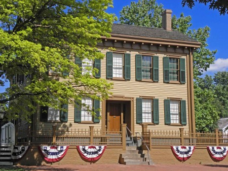 Abraham Lincoln Family Home - Springfield Illinois