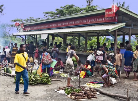 A Market along the road