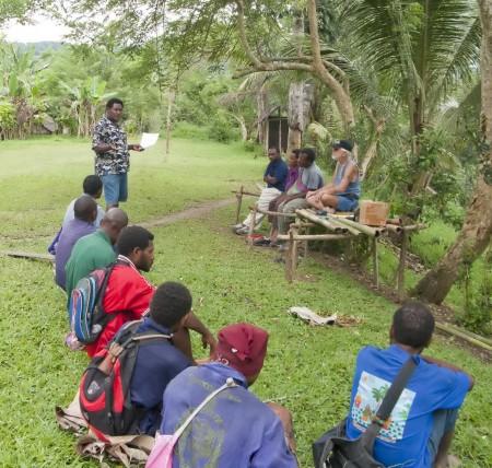 Erustas Otairobo Teaching the Leaders