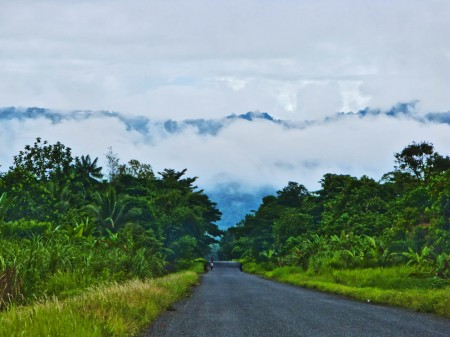 Road from Madang
