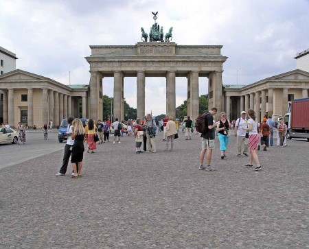 Brandenburg Gate, Berlin - The standard tourist shot