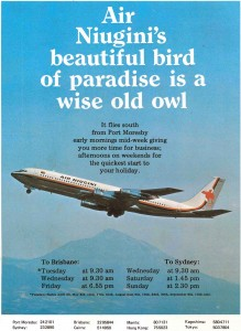 Air Niugini - A Wise Old Owl?