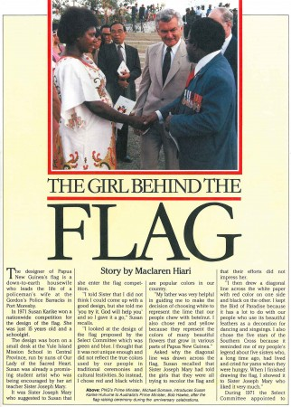 Our Flag Maker from Paradise Magazine - page 1