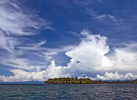 A typical Madang sky