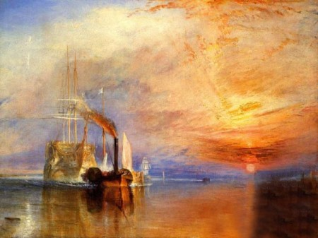 A painting by J. M. W. Turner