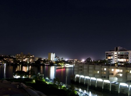 From the balcony in Brisbane