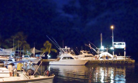 All the boats have returned and the party at the Madang Club gets rolling in earnest