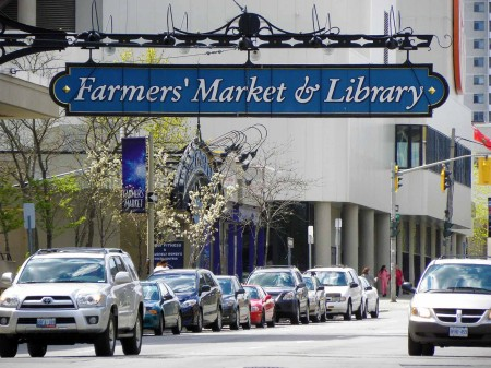 The farmers have a special library in Hamilton