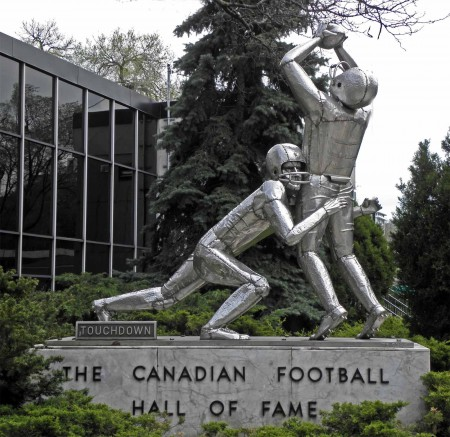 The Canadian Football Hall of Fame