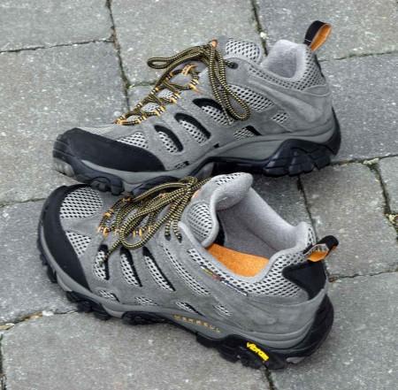 My new Merrell boots