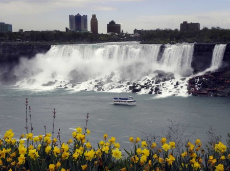 Niagara Falls, the American version with the Maid of the Mist