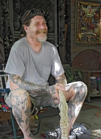 Sedona, Arizona artist, Dean Chetwynd