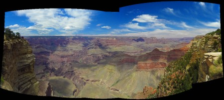 A Grand Canyon panorama