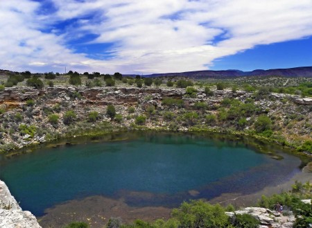Montezuma's Well near Sedona Arizona