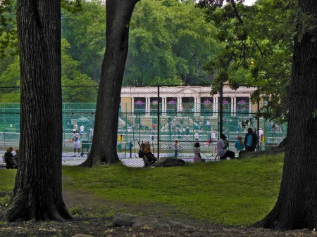 Central Park - Tennis, anyone?