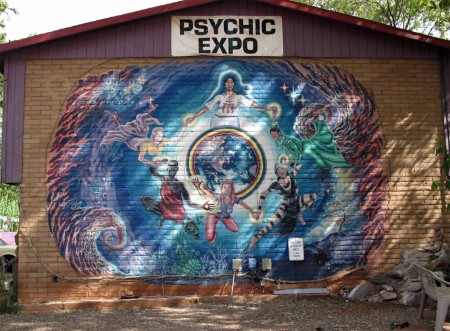 The Psychic Expo - This says it all about Sedona