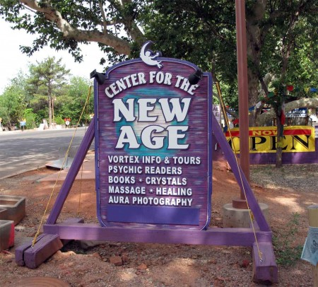 There is an actual centre for the New Age. Lucky that I discovered this.