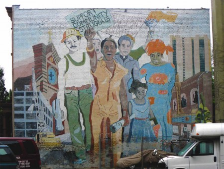 Community art in Harlem, New York City