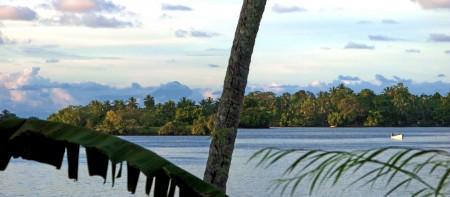 Kar Kar Island panorama from my veranda